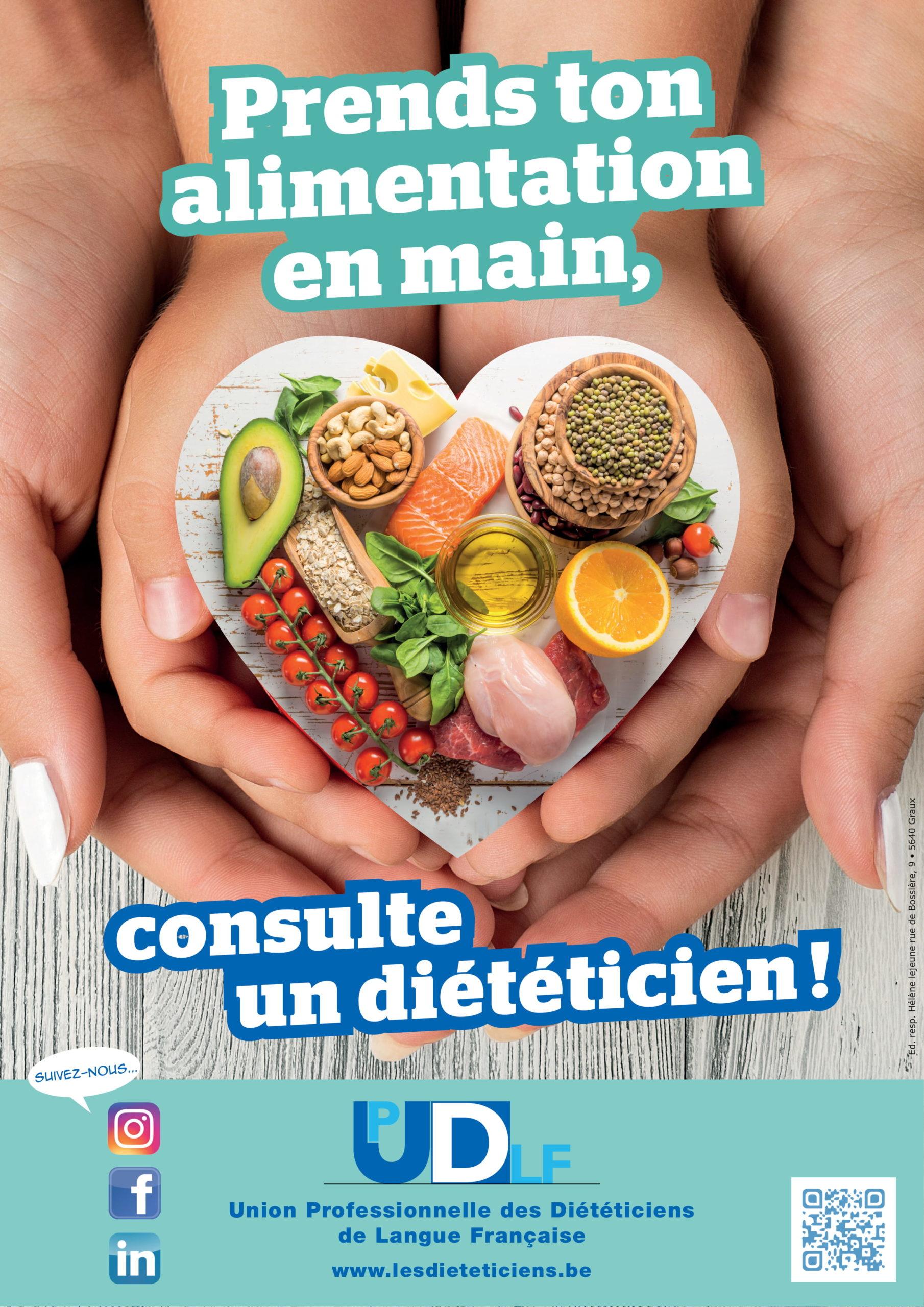 Prends ton alimentation en main, consulte un diététicien !
